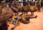 Voodoo Initiaties in Trance, Benin, Nigeria