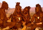 Himba Bride with her Female Relations, Namibia