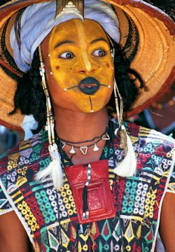 Wodaabe Male Charm Dancer, Niger
