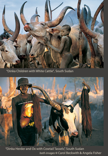 Beckwith-Fisher online Dinka exhibtion