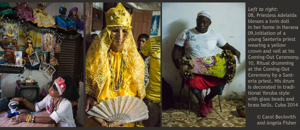 Beckwith & Fisher photograph Cuban Voodoo cutlure, 3