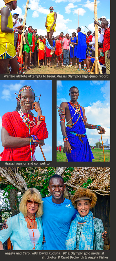 Beckwith & Fisher photograph theMaasai Olympics 2014