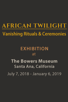 African Twilight exhibition at the Bowers Museum