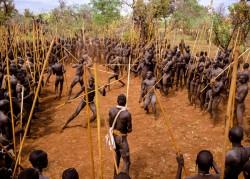 Surma Stick Fighters, Ethiopia